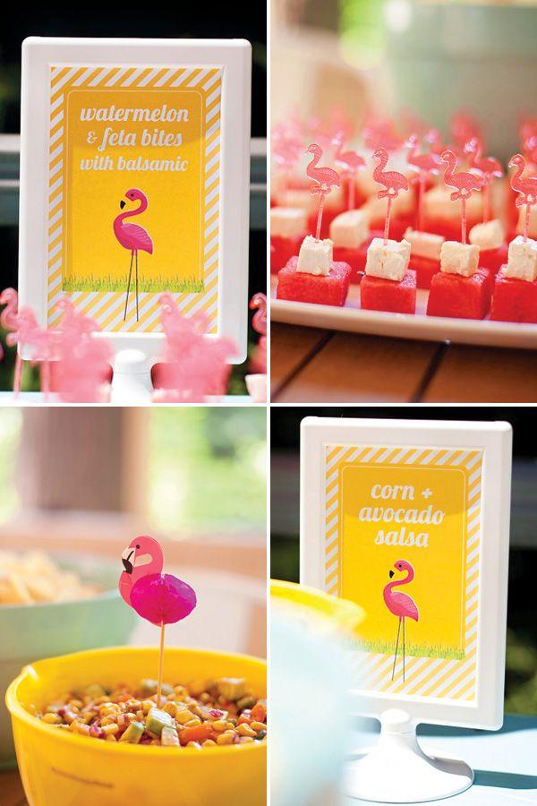 Tropical Flamingo First Birthday Bash {Budget Friendly!}