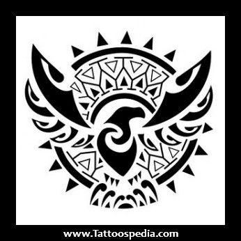 Maori Eagle Tetování