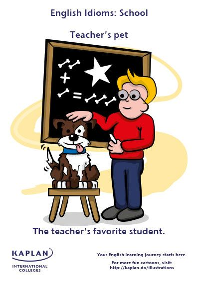 Idioms: Teacher's pet