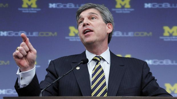 """Former University of Michigan athletic director Dave Brandon has been named the CEO of Toys """"R"""" Us, per the Wall Street Journal. #DaveBrandon"""