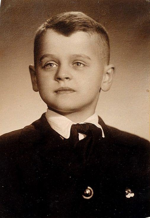 Misha in his school years. Михаил Барышников, ученик 3 Б класса средней школы №22. 1958 г.