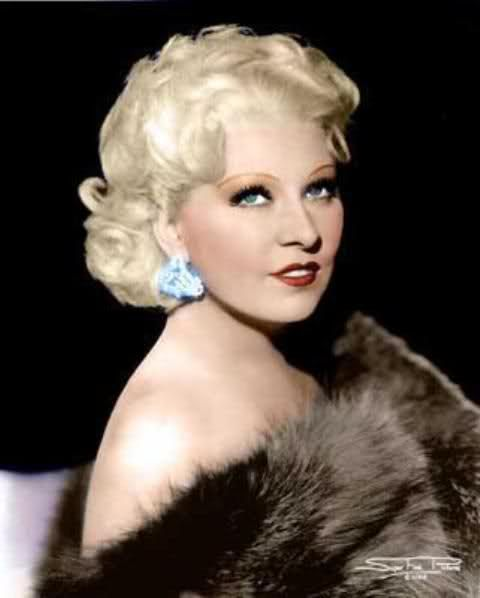 """MARY JANE """"MAE"""" WEST 08-17-1893 til 11-22-1980 (87) AMERICAN ACTRESS, SINGER, PLAYWRIGHT, SCREENWRITER & SEX SYMBOL"""