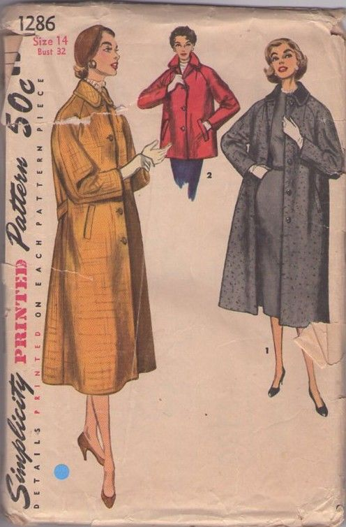 53 best Coat patterns images on Pinterest | Coat patterns, Sewing ...