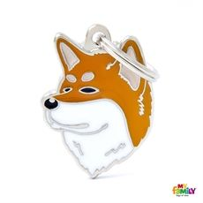 Show details for Akita Inu Dog Tag Free incision  www.myfamily.it