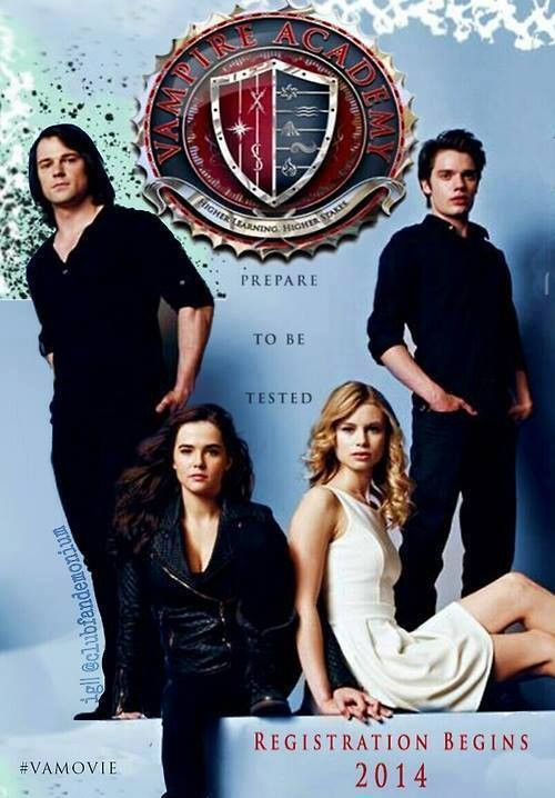 Vampire academy poster. Again, why didn't they use THIS poster to put in the theaters??? Sooo much better than the one they actually used. sigh.... <<<< I didn't like long hair on Danila Kozlovsky, doesn't suit him