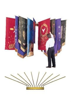 12 Best Images About Church Banner Storage Ideas On