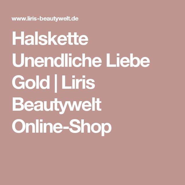 Halskette Unendliche Liebe Gold | Liris Beautywelt Online-Shop
