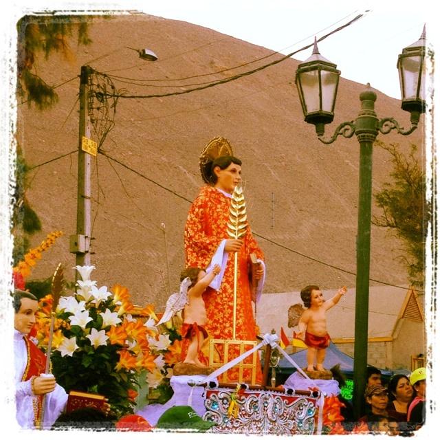 San Lorenzo, pueblo de Tarapacá