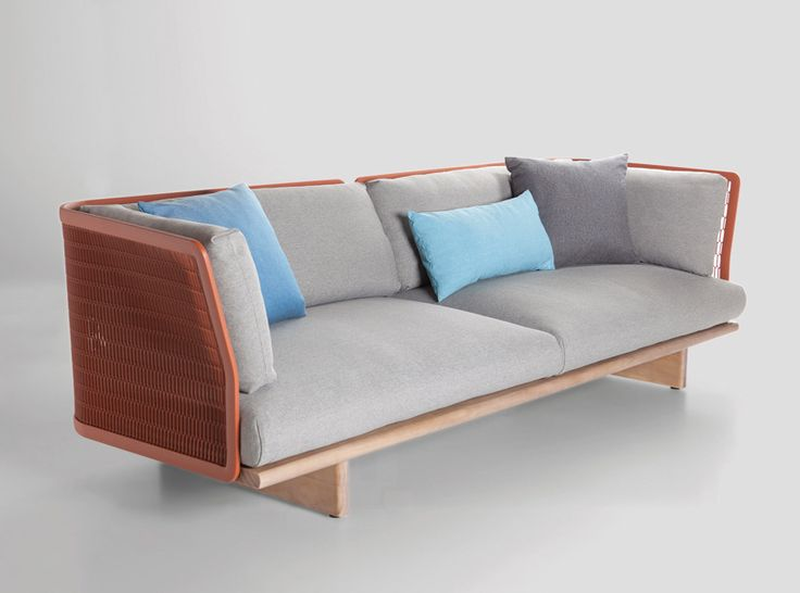5osA: [오사] :: *모던 패브릭 쇼파 patricia urquiola creates contrasts with mesh outdoor furniture for kettal