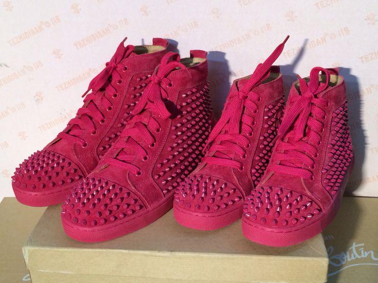 check out 1ea98 e0c13 Hot pink sneaker women and men size   Christian louboutin ...