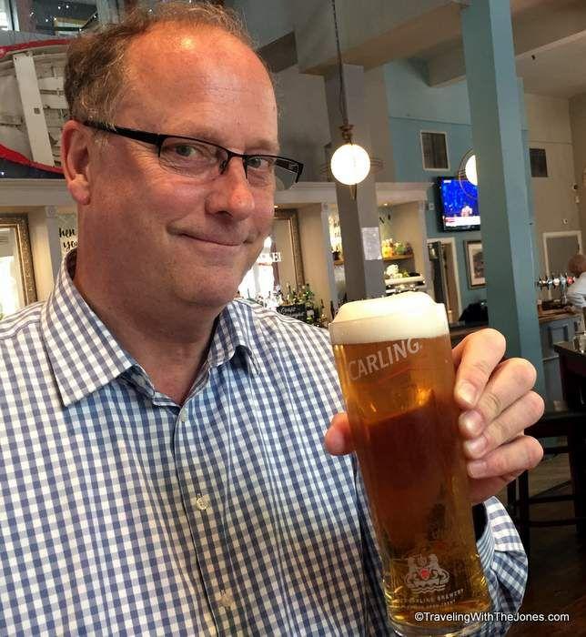 Carling beer, Liverpool, England