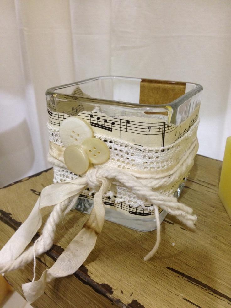 Candle Holder Craft Ideas Pinterest
