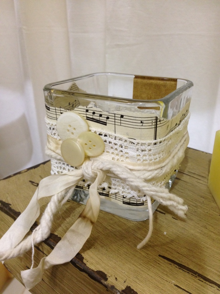 Candle Holder Craft Ideas Pinterest