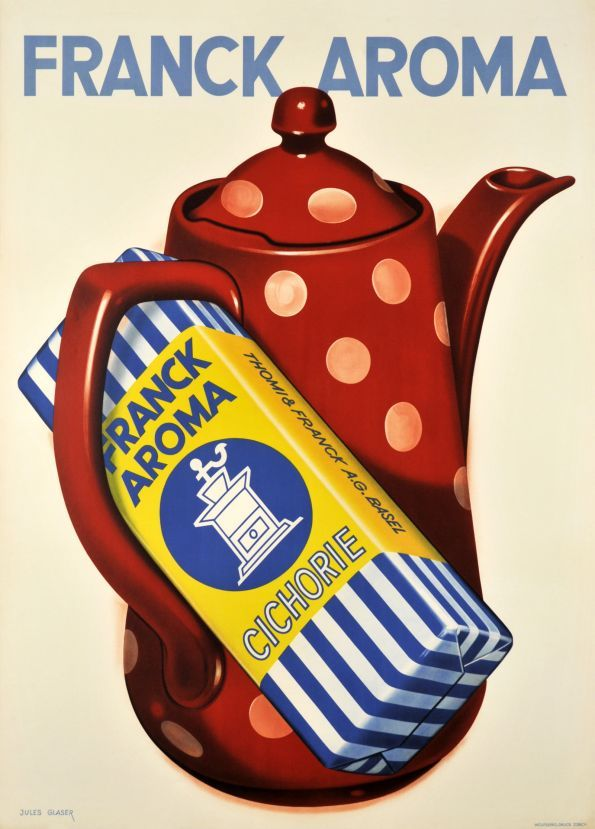 Franck Aroma, Cichorie - Vintage Posters - Galerie 123 - The place to find vintage art