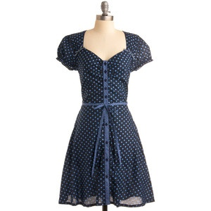 love this polka dot dress!