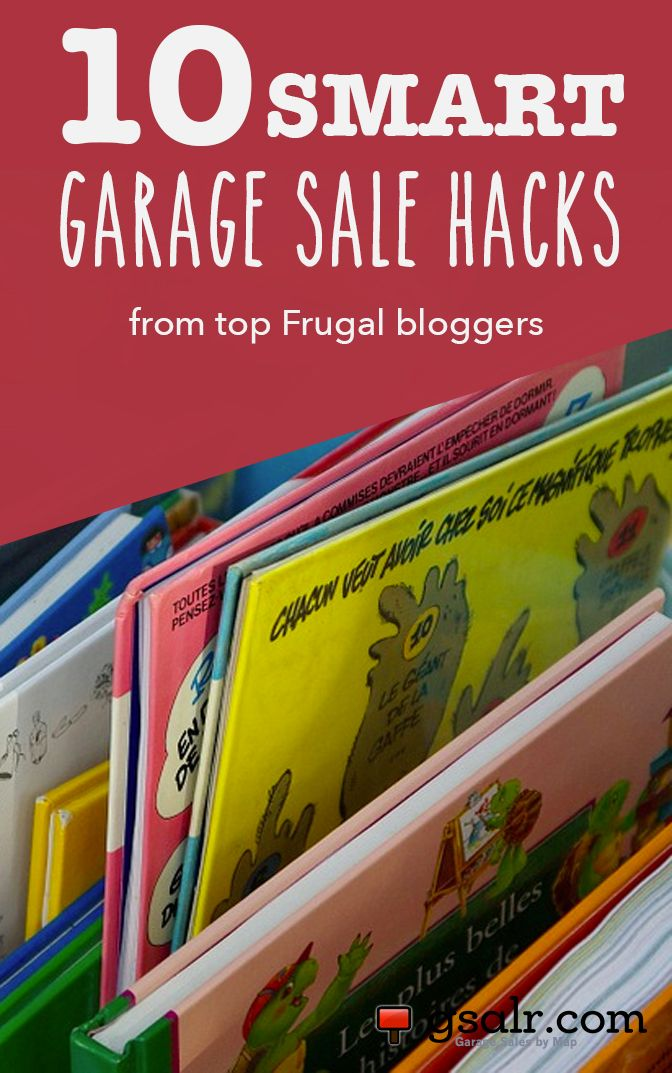 Top frugal bloggers share their best yard sale tips on pricing, organizing and advertising a sale