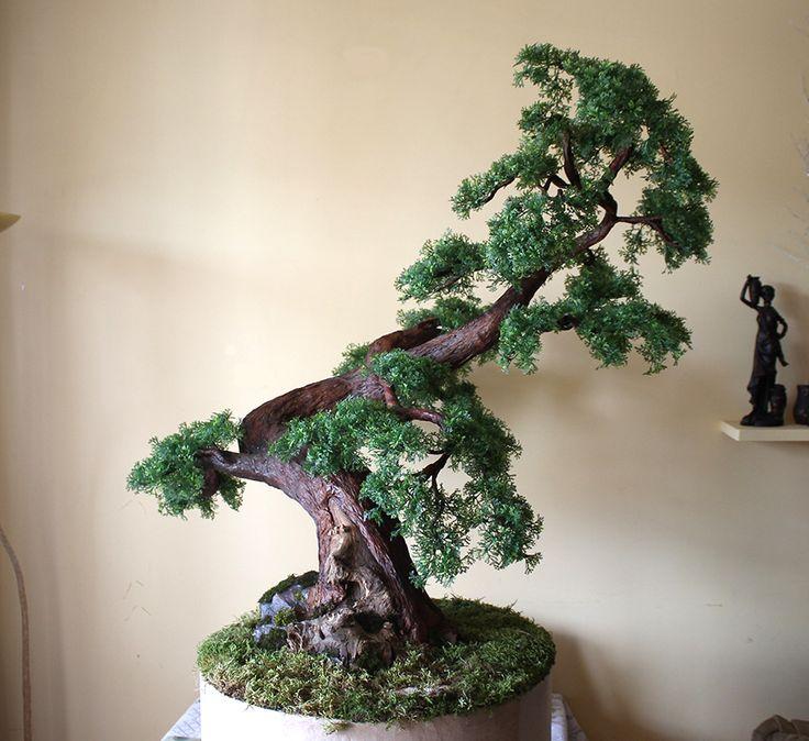 Sztuczne drzewko bonsai zokei wykonane na indywidualne zamówienie Zapraszam na : https://www.facebook.com/swiatbonsaizokei