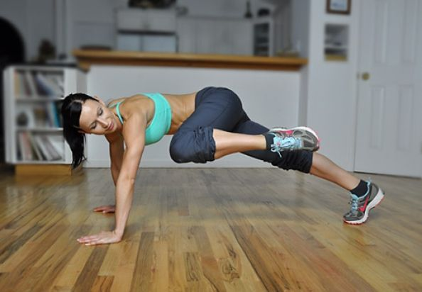 Burpee Burnout Workout - I love (hate) burpees, gotta try this variation!