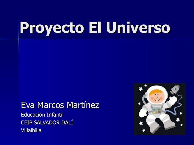 Proyecto realizado con alumnos de educación infantil sobre el tema del Universo.