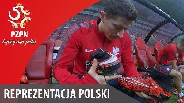 Snajper Reprezentacji Polski opowiada o swoich wyjątkowych butach piłkarskich • Robert Lewandowski i jego historia • Zobacz film >>