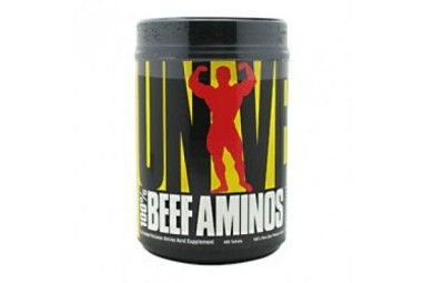 Universal Nutrition 100% Beef Aminos 400 Capsule + Free Sample Price: WAS £27.99 NOW £24.00