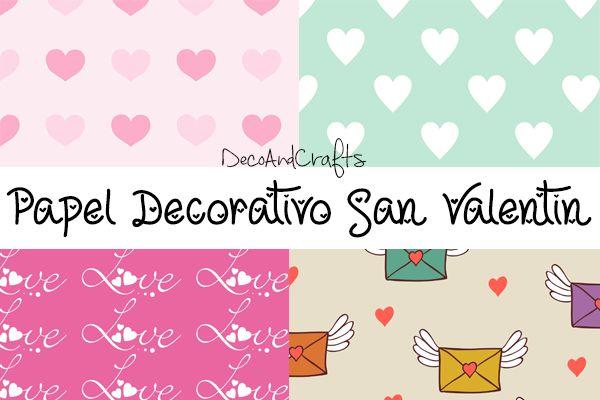 Papel decorativo san valentin decoandcrafts papel for Fotos de papel decorativo