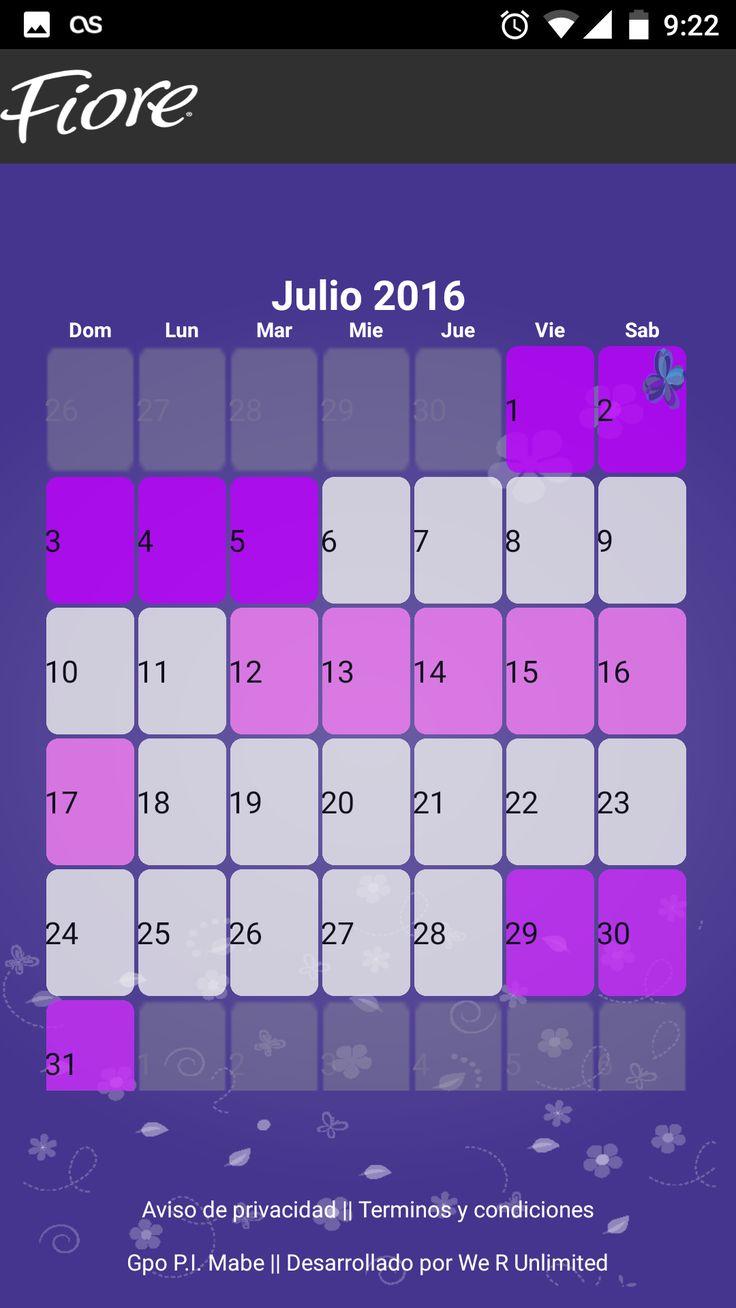 Con el llenado de datos de tu Calendario podrás obtener proyecciones de tu período y ovulación. Recuerda que es una herramienta de ayuda y puede tener impresiciones
