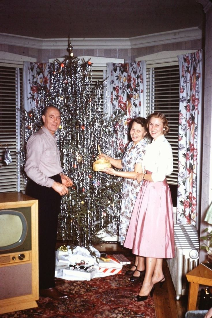 Found Christmas Photos from The Fifties