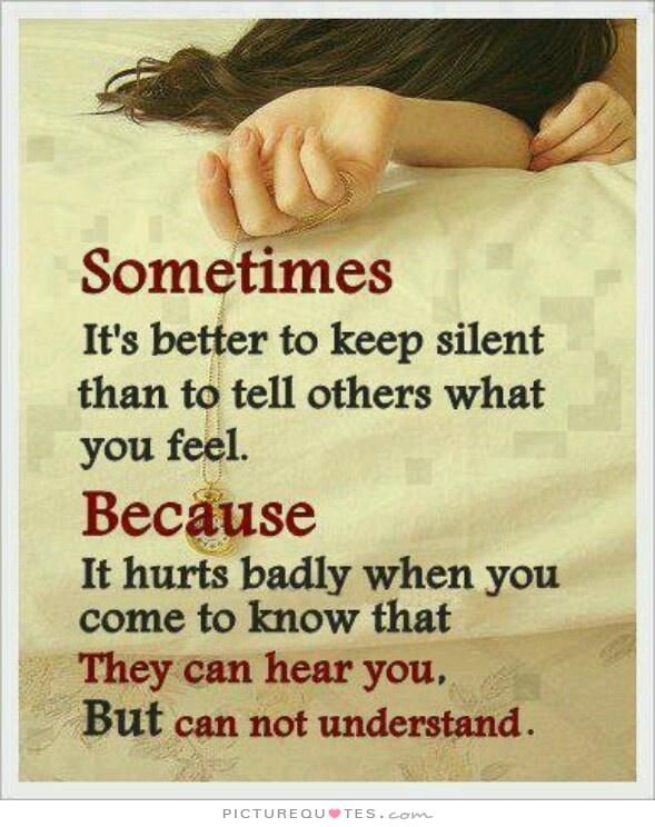 Quotes About Pain To Know That They Can Hear You But Cannot