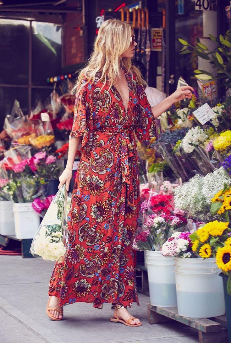 Elsa Hosk Free People Summer 2016 City Style Lookbook