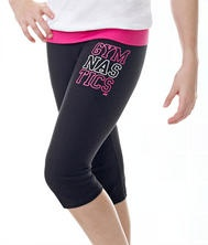 Gymnastics shorts (by not to short!) I would wear to Gymnastics class!