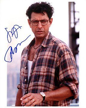 JEFF GOLDBLUM (Independence Day) This shirt was by Ralph Lauren as I recall. We had six of them. #josephporrodesigns