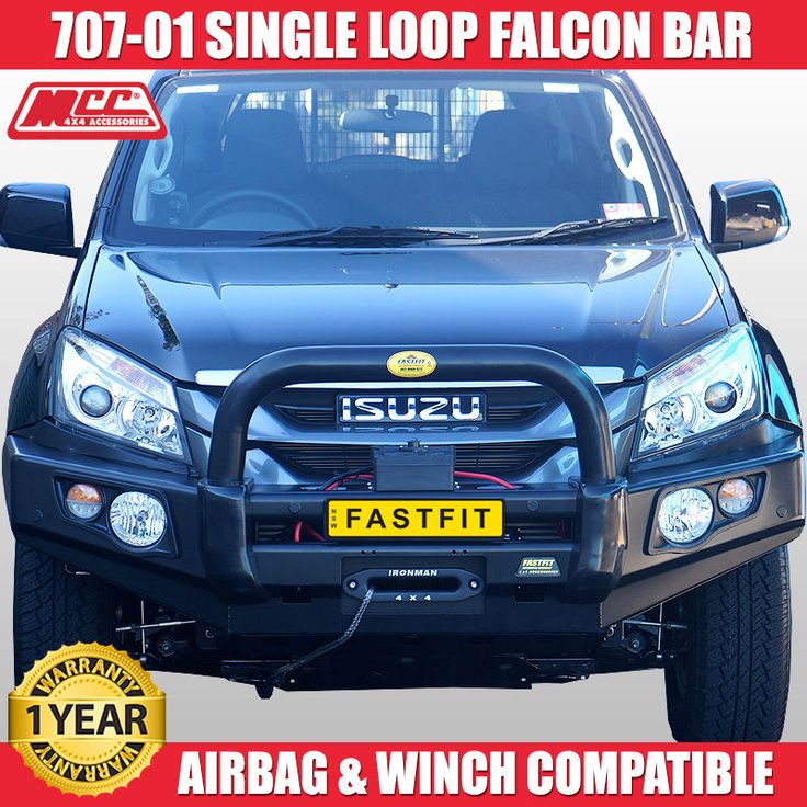 MCC4x4 707-01 Falcon Bull Bar to Suit Isuzu D-Max 2012 Dmax Bullbar Winch Comp in Vehicle Parts & Accessories, Car, Truck Parts, Exterior | eBay!