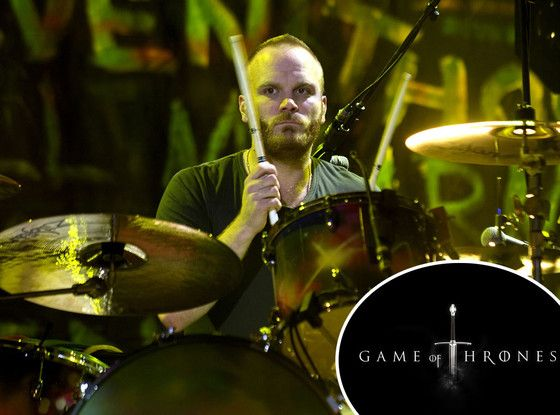 Will Champion, (Coldplay), to Game of Thrones.     my worlds are colliding.