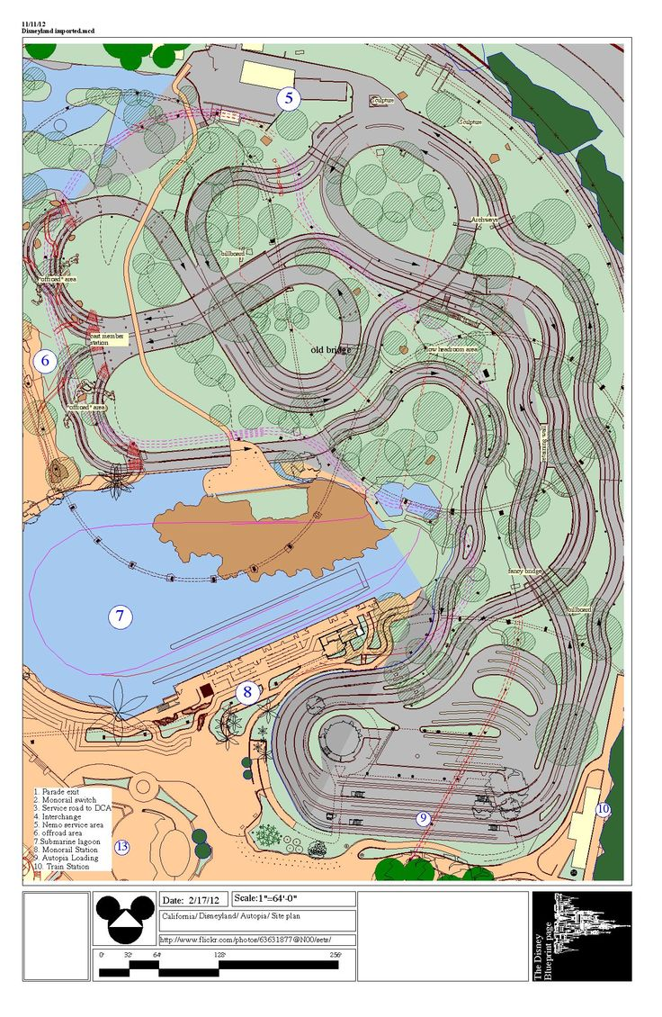 disneyland autopia layout Google Search 5822
