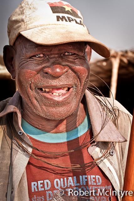 Traditional Angolan musician