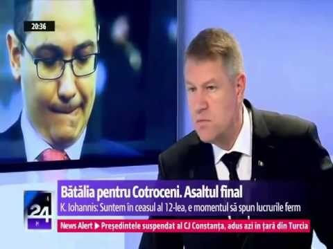 Klaus Iohannis   Interviu excelent cu Emil Hurezeanu Digi24