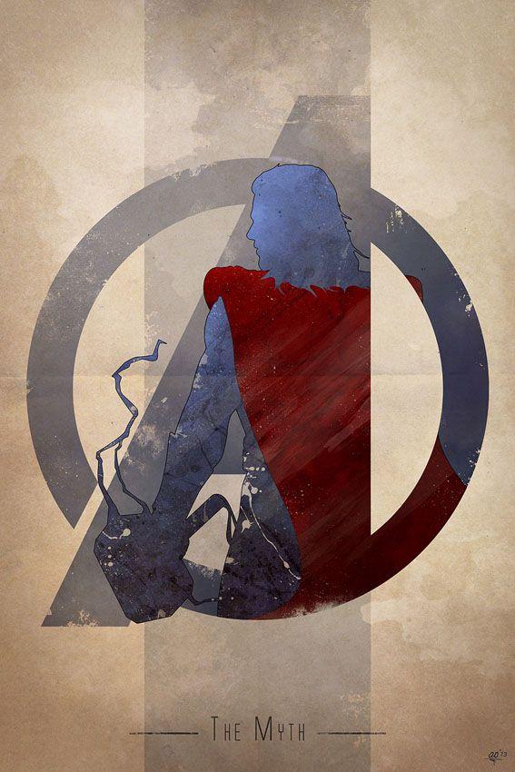 Anthony Genuardi – Avengers Logo, Thor