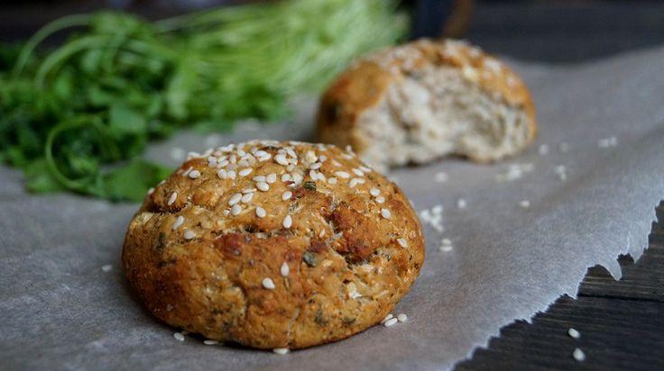 Диетические булочки из цветной капусты с зеленым луком - диетический хлеб / диетические крекеры - Полезные рецепты - Правильное питание или как правильно похудеть