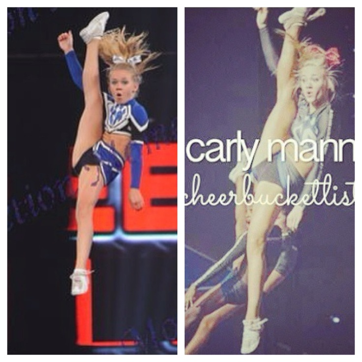 Carly Manning with the same expression when she was younger and now!