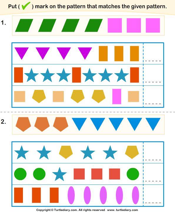 112 Best Pattern Blocks Images On Pinterest Math