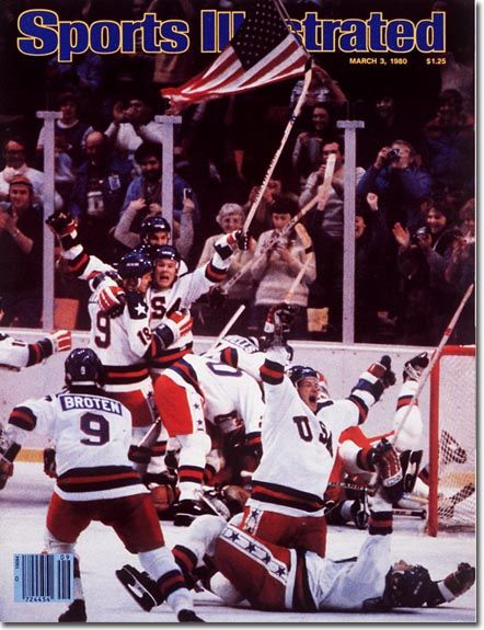 March 3, 1980: U.S. Olympic Hockey Team.    No headline necessary for one of the most memorable events in U.S. sports history.