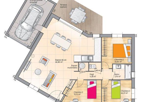 les 55 meilleures images propos de plans maison sur pinterest plans de maison cabanes de. Black Bedroom Furniture Sets. Home Design Ideas