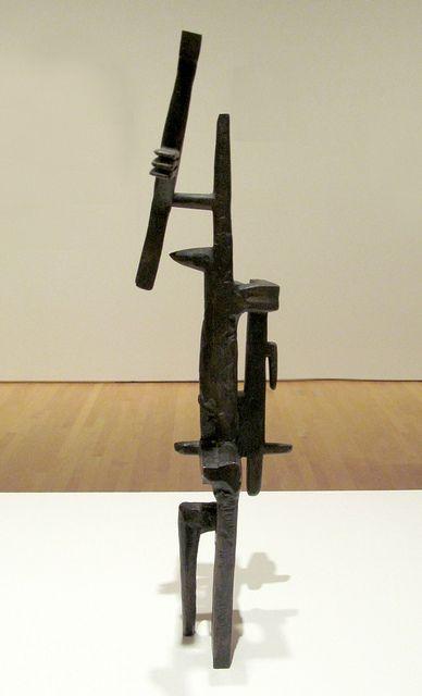 Julio Gonzalez, 1937. Bronze. SFMOMA
