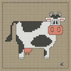 tantissime mucche colorate per punto croce scaricare pdf