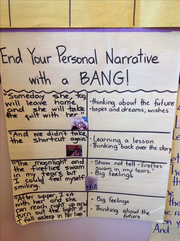 personal narrative a valuable lesson essay This assignment will give you practice in composing a narrative essay based on personal experience narrative essays are among the most common types of writing.