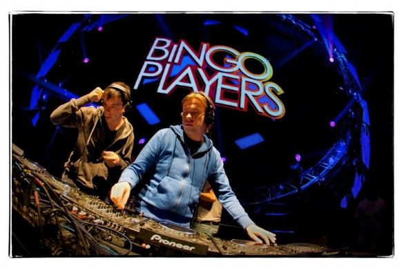 """Bingo Players is a prominent Dutch Dance and Electro House DJ and production duo, made up of Paul Bäumer and Maarten Hoogstraten. They are best known for their hit songs """"Cry (Just a Little)"""" and """"Rattle"""". """"Cry (Just a Little)"""" was a Top 40 hit in the Netherlands, Belgium, United Kingdom, and other parts of Europe and Australia, in addition to an international club hit."""