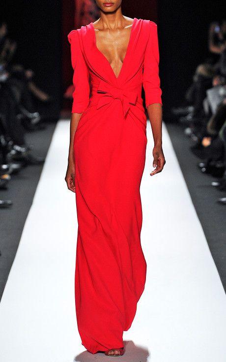3-Ply Silk Gown by Carolina Herrera for Preorder on Moda Operandi
