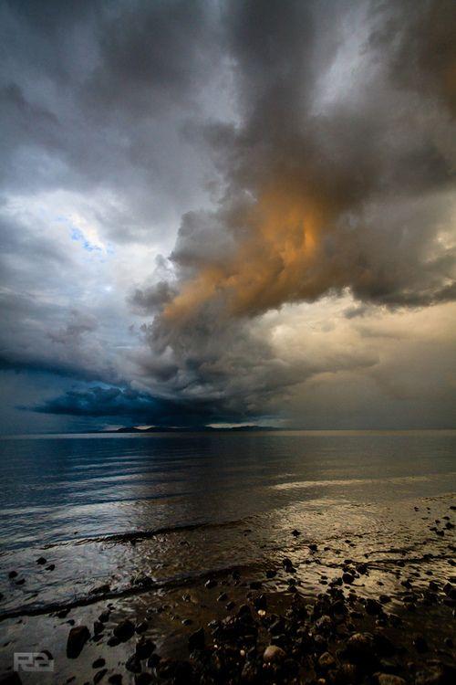Lake Taupo New Zealand, by Robert Brienza