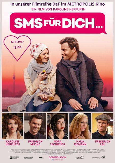 SMS FÜR DICH am 12.4.2017 bei #DaF im #METROPOLIS #Kino #Hamburg. Auch beim zweiten Mal noch herrlich romantisch!